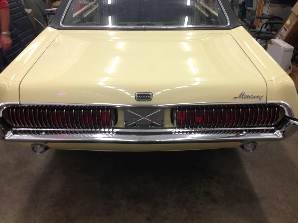1968 Cougar GT 390 S Code